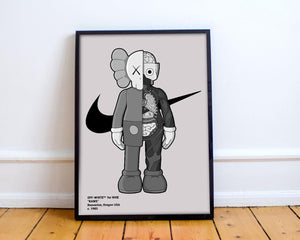 Tableau OFF WHITE x KAWS