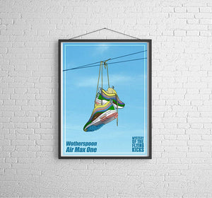 Tableau SEAN WOTHERSPOON x AIR MAX 1/97 FLYING