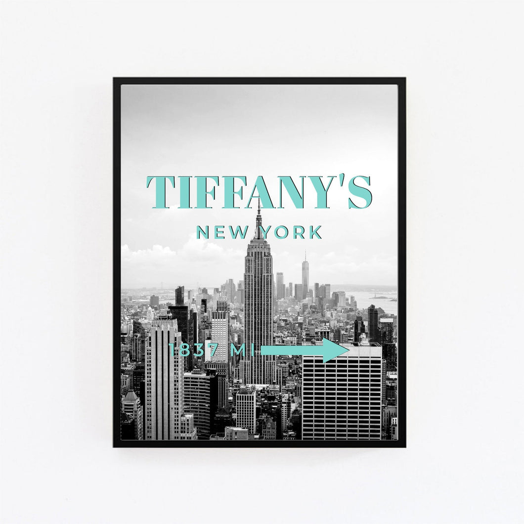 Tableau TIFFANY NEW YORK