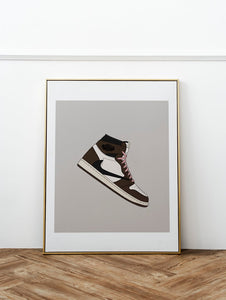 Tableau TRAVIS SCOTT x AIR JORDAN 1