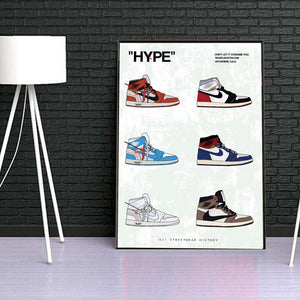 Tableau AIR JORDAN 1 COLLECTION