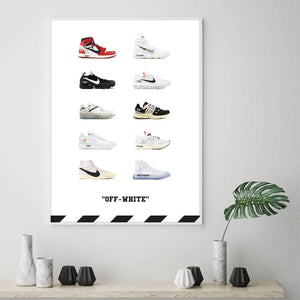 Tableau OFF WHITE Sneakers Collection
