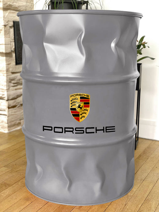 baril porsche, porsche décoration