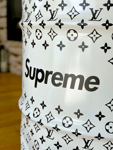 baril supreme x Louis Vuitton baril de marques baril décoratif baril hypezone