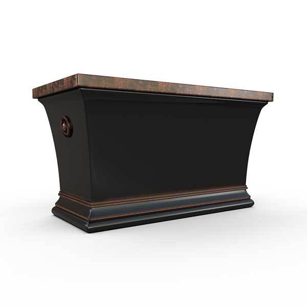 Gardenstone Aurora Trough Planters Gardenstone Copper Black