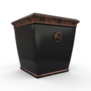 Gardenstone Bedford Planters Gardenstone Copper Black Medium