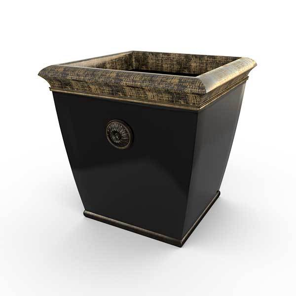 Gardenstone Bedford Planters Gardenstone Golden Black Medium