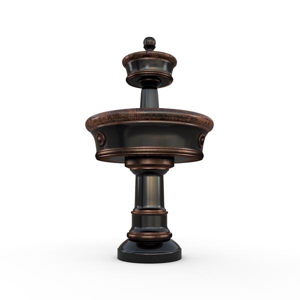 Gardenstone Carerra Fountain Water Fountains Gardenstone Copper Black