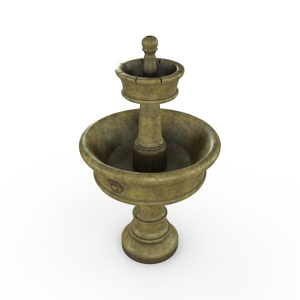 Gardenstone Carerra Fountain Water Fountains Gardenstone English Moss Fountain