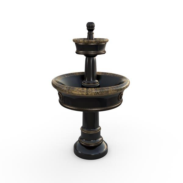 Gardenstone Carerra Fountain Water Fountains Gardenstone Golden Black