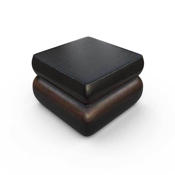 Gardenstone Contemporary Planter Feet (Pack of 4) Pedestals Gardenstone Copper Black Square