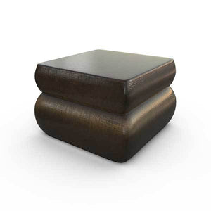 Gardenstone Contemporary Planter Feet (Pack of 4) Pedestals Gardenstone Golden Bronze Square