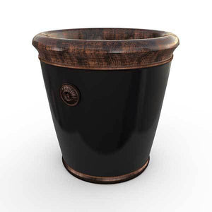 Gardenstone Coventry Planters Gardenstone Copper Black Small