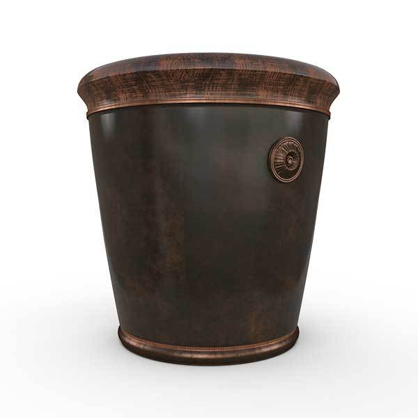 Gardenstone Coventry Planters Gardenstone Copper Bronze Small