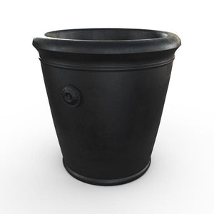 Gardenstone Coventry Planters Gardenstone Etched Black Small