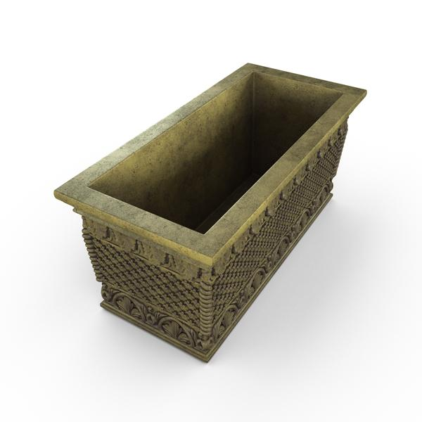 Gardenstone Floral Weave Trough Planters Gardenstone English Moss