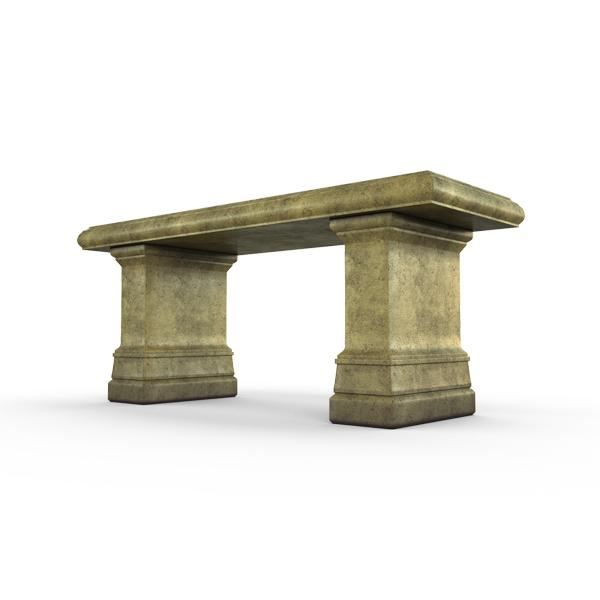 Gardenstone Highgrove Bench Benches Gardenstone English Moss Bench