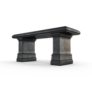 Gardenstone Highgrove Bench Benches Gardenstone Etched Black Bench