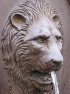 Gardenstone Lion Wall Fountain Water Fountains Gardenstone