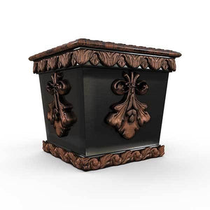 Gardenstone Pan's Pleasure Planters Gardenstone Copper Black