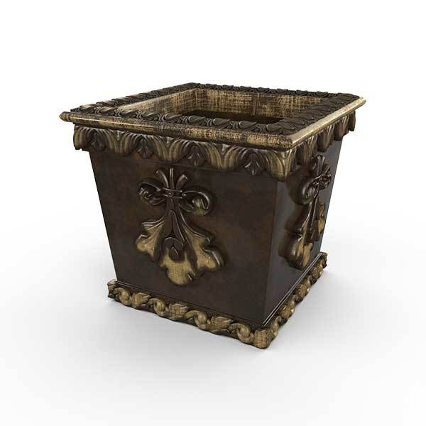 Gardenstone Pan's Pleasure Planters Gardenstone Golden Bronze
