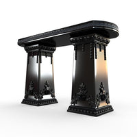 Gardenstone Side Table Benches Gardenstone Black Side Table