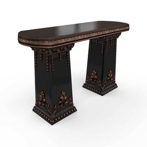 Gardenstone Side Table Benches Gardenstone Copper Black Side Table