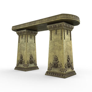 Gardenstone Side Table Benches Gardenstone English Moss Side Table