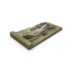 Gardenstone Vatican Angels Statues Gardenstone English Moss Left