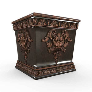 Gardenstone Williamsburg Planters Gardenstone Copper Bronze