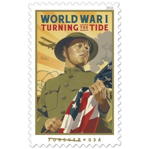 TangStamps US Stamp 2018 New Issue World War I Turning The Tide MNH