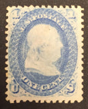 TangStamps US Stamp #63 Mint, LH, OG
