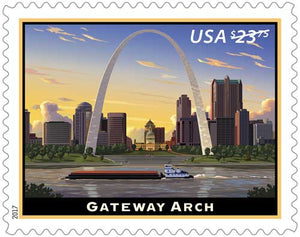 US #5157 2017 Express Mail Stamp MNH Gateway Arch