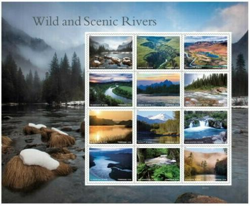 US #5381 2019  Wild and Scenic Rivers