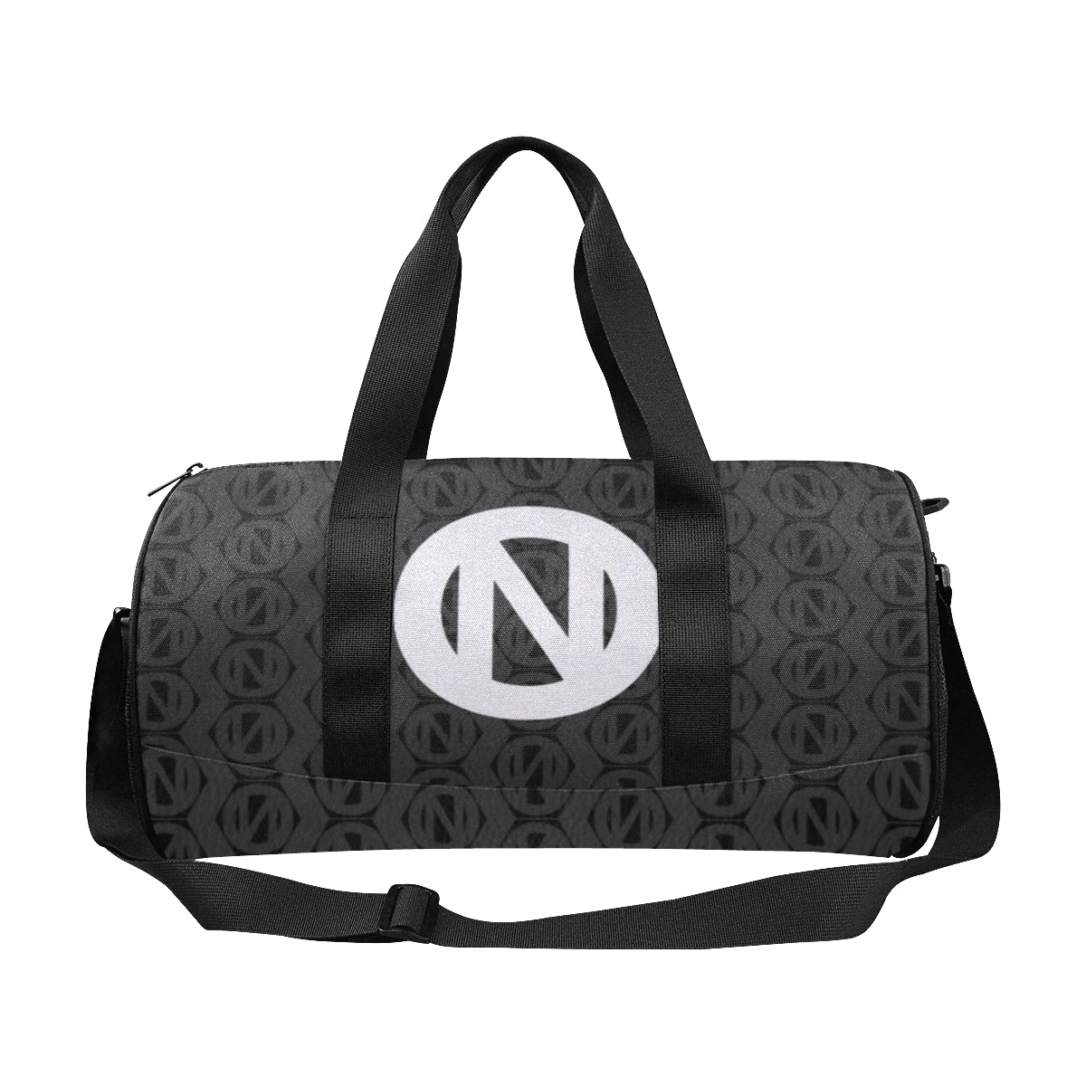ONCE|NUDE [Black] Hexagon Print Travel Tote - ONCE|NUDE