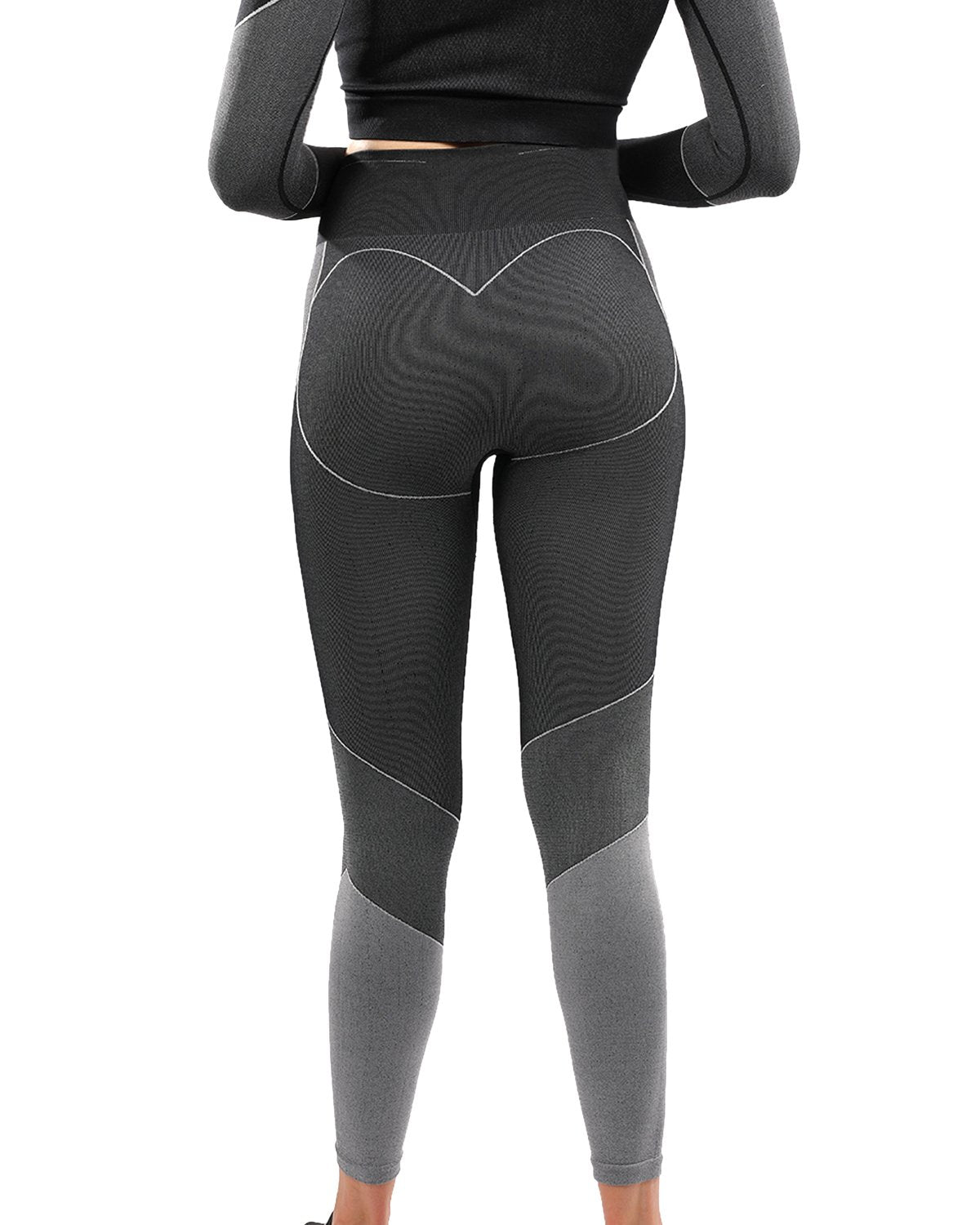 Escolta Seamless Legging - Black - ONCE|NUDE