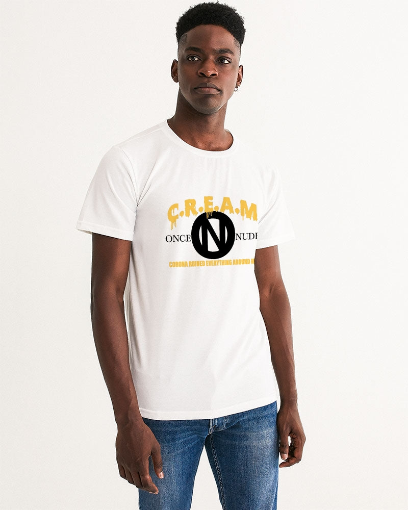 ONCE|NUDE x C.R.E.A.M [Charity T-Shirt Orange Creamsicle B] Men's Graphic Tee - ONCE|NUDE