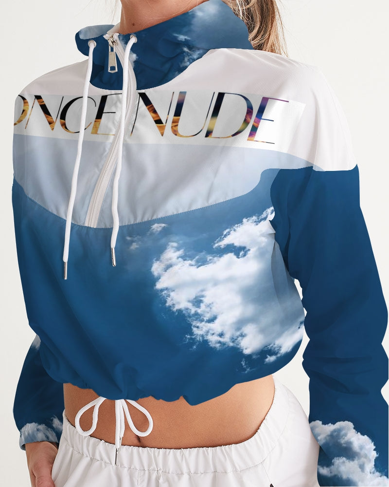 Up In Flames Women's Windbreaker - ONCE|NUDE