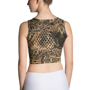 Fine Tooth Honey Comb Crop Top - ONCE|NUDE