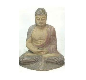Antique Asian Sitting Buddha