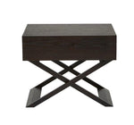 Ascot Bedside Table - Mocha