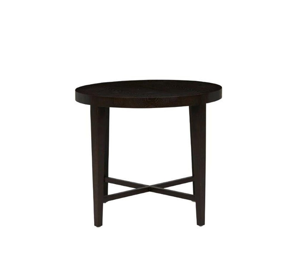 Ascot Side Table- Mocha