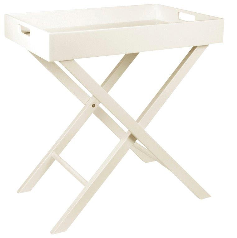 Butlers Tray Table White