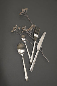 Hutton Hammered Cutlery