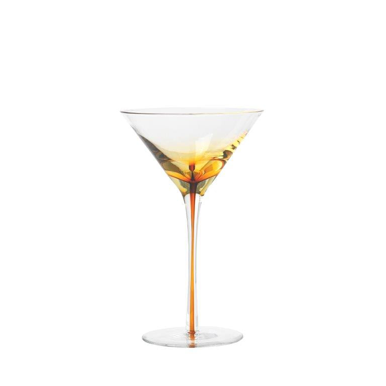 Saffron Martini Glass