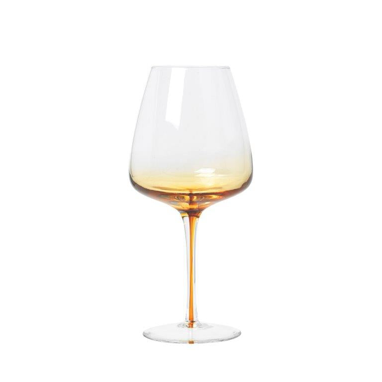 Saffron Red Wine Glass