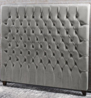 Bianca Lorenne Bettino Headboard - Fog