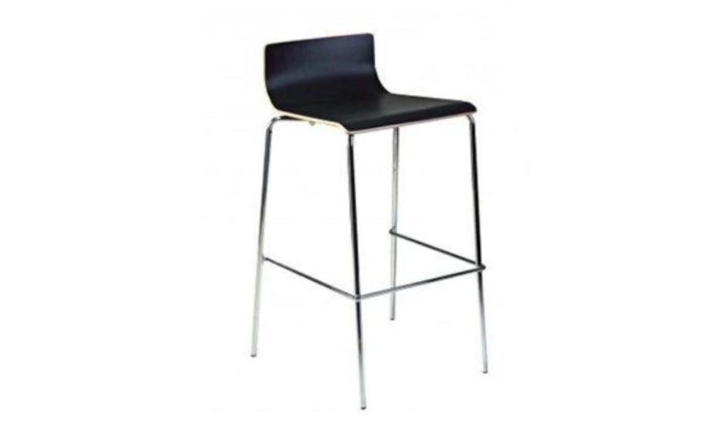 Bonn Bar Stool - Black