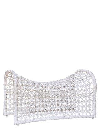 COMING SOON - Wave Foot Stool White