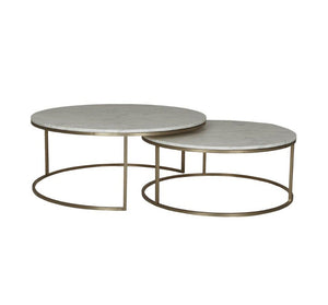 Elle Nest of Tables – Gold Base